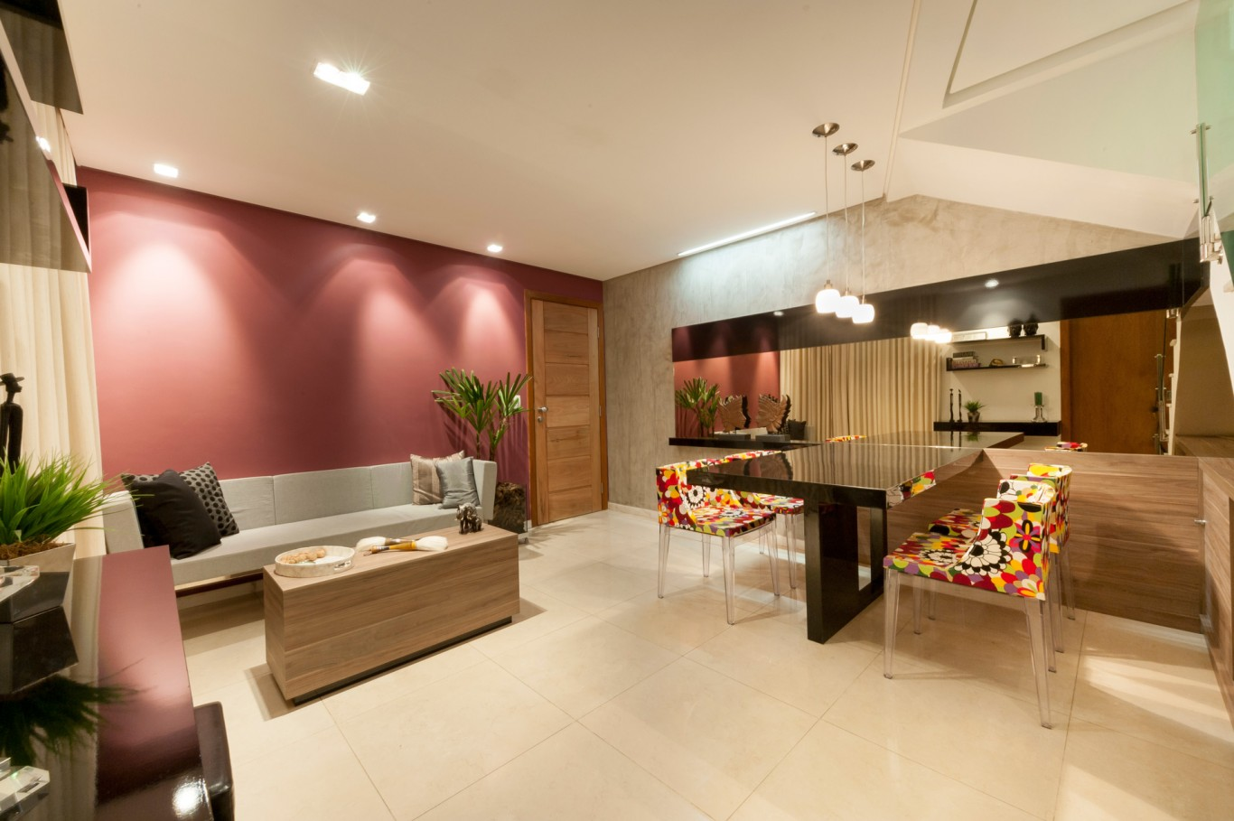 Apartamento Savassi - Sala de Estar