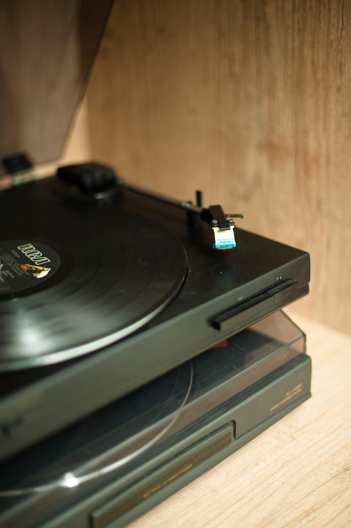 Apartamento Savassi - Toca-disco 90's